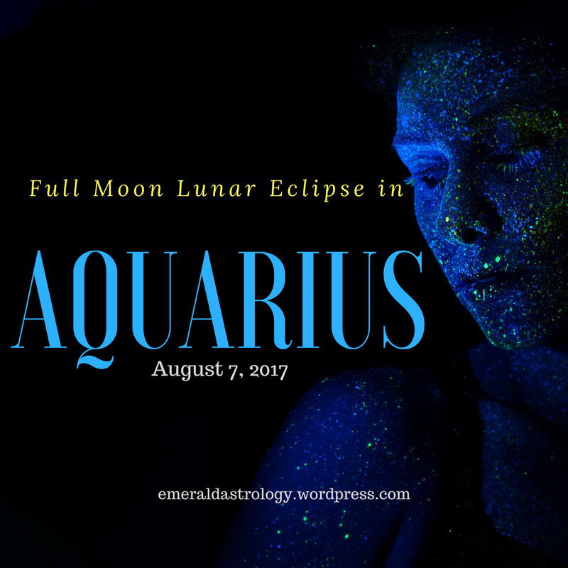 Full Moon in Aquarius (Lunar Eclipse)
